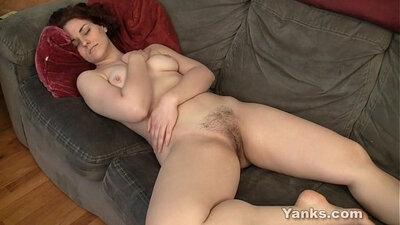 Bored Redhead Milf Masturbating And Fucking