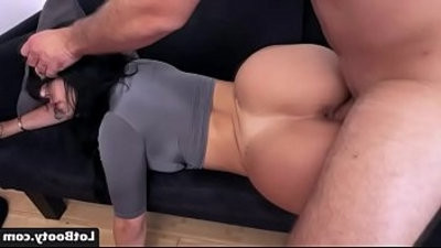 Fat butt dark haired latina Valerie Kay gets ass fucked