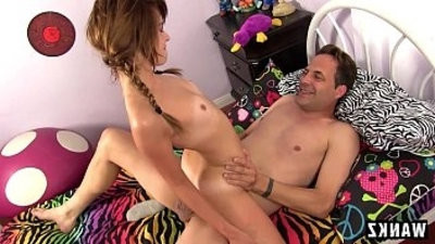 Naughty hot Teen Loves Fucking Her Step Dad!