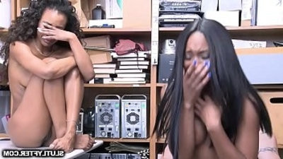 LP Officer feeds the Ebony shoplyfter his bisexualg throbbisexualng cock!