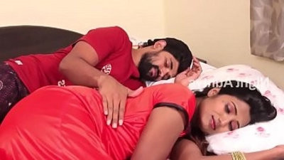 Wife and spouse Romance in couch Room Scene HD