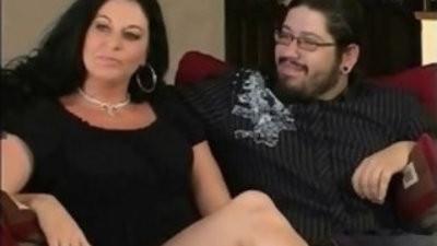 Brunette swinger milf cuckold lovemaking