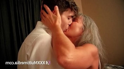Old step mom fucks young son Leilani Lei