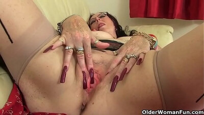 Ana Mancini In The Resort Next To A Tiny Wet Floor