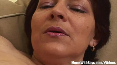 Alison Klats Lingerie and Step Mom on a BlowJob