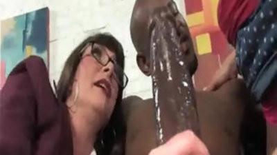 Cougar Mom Sjourney And Fuck big Black huge hard Cock