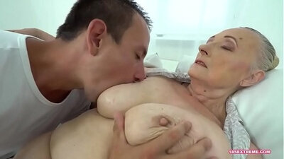 Naughty Granny Deuces In Your Face With A Huge Cock