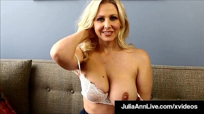 Brunette crying teacher Julia Ann and gets her freedom