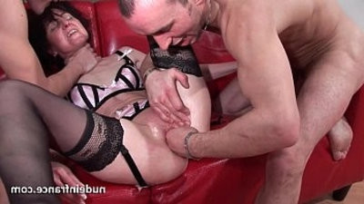 hookupy blonde amateur hard analized and dual penetrated