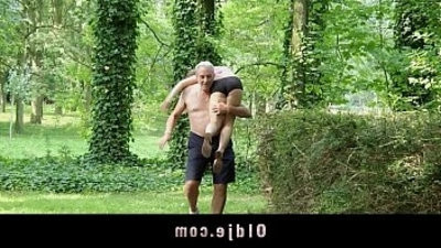 Nagging little bitch gets big cock penalizedudest in the forest