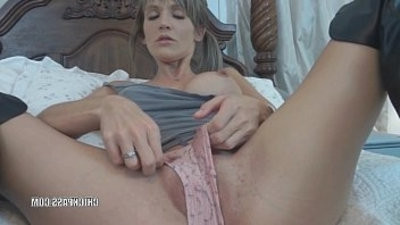 ash blondee wife Jolene in black boots while fucking her fucktoys and sucking dick