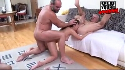 Astonishing Allure Interracial Gangbang