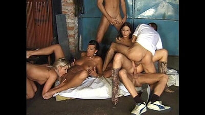Best busty 3some group sex
