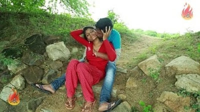 Village Aunty Romance With Neighbour In Outdoor Latest Telugu Romantic brief