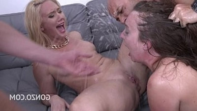 Maddy OReilley very first DAP with AJ Applegate tesore her the Bitch tricks