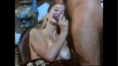 LustHD Handsome boner dangled by leathery bitch