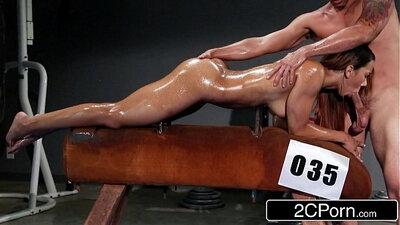 Brazilian bodybuilder hot gym workout