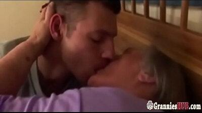 Granny Masturbations On Kinky Boobs