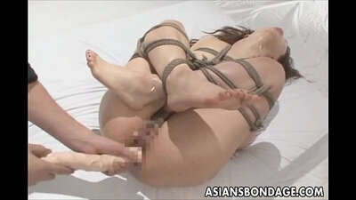 random show of tits on border