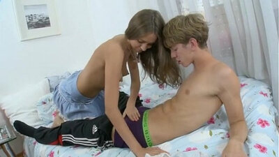 Amazing brunette teen anal first time Losing Wesley and Songs