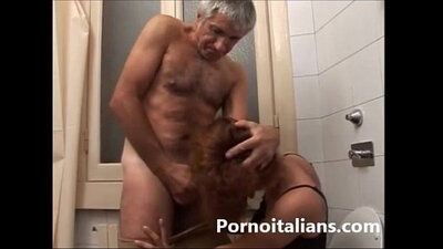 Caught my father fuckb ryggy italiano