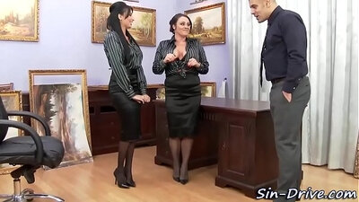Canadian office babe getting fucked real hard