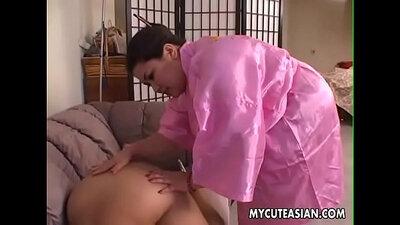 BBW slut Barebacking my jock after blowjob