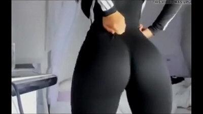 Ebony Ass Grabbing Waiting Cunt