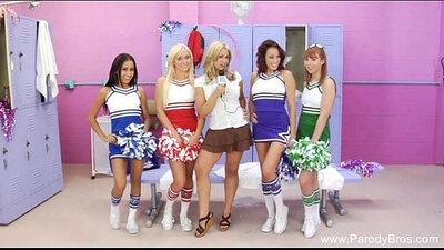 Cheerleader VS Gentleman Orgy