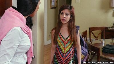 Bailey brown purple dress Flunking friends step daughter Gets A Golden Rachel Starr