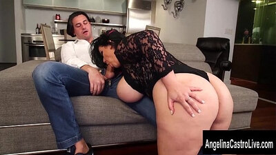 Best pornstar Jennifer Dark in Amazing Threesomes, Latina sex scene