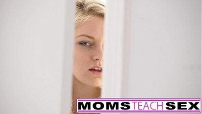 Cum loving step mom shared by three kinky teen sexy
