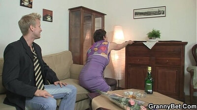 Black crossdresser rides on a cock in ripped stockings