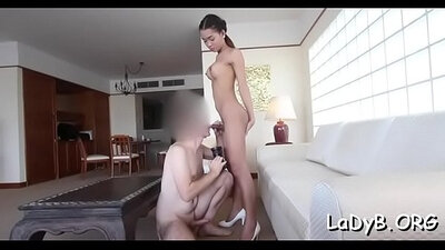 Drilling my favorite sweet Thai pussy