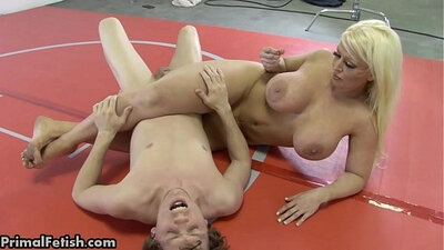 Amber-collar babe feet domination and hard arm wrestling in romania