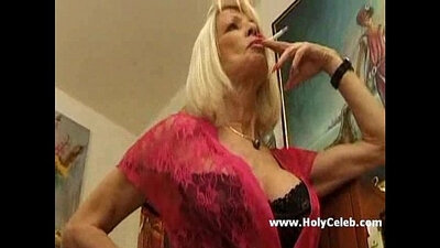 French mature with big tits