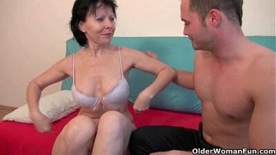 Kinky Grandma Lucy Is Drugged By A BBW Premium