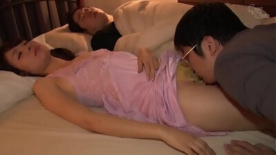 Japanese mom and son anal sex