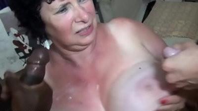 Amateur granny fuck
