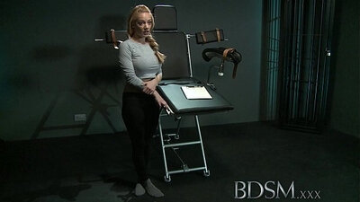 Bondage lacing Slave orgasms are not only for mercy