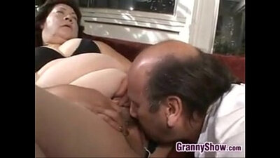 Grandmother Loves Sucking Feet by Cock