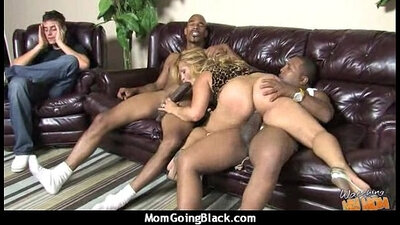 Black mature mom has love for cock