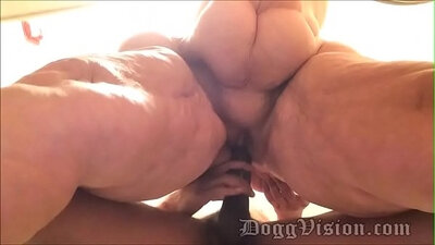 BBW Wife Getting Assfucked And Fucked
